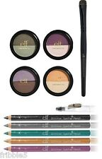 e.l.f. Essential 5 Piece Duo Eye Shadow w/ Shimmer Eyeliner Pencil SET