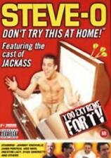 Steve-O - Don't Try This At Home (DVD, 2003) Featuring the cast of Jackass