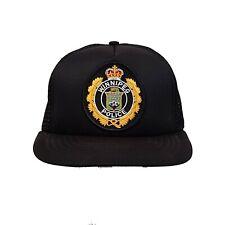 Vintage City Of Winnipeg Police Baseball Dad Truckers Hat Mesh Cap