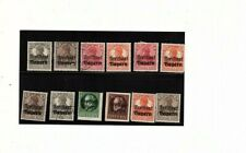 GERMANY 16 assorted DEUTSCHES REICH Freifaat Bayern Pre Cancel mnh mh used (mb12