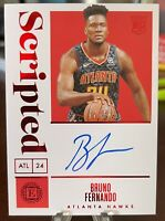 2019-20 ENCASED - SCRIPTED  Bruno Fernando - RC AUTO RED #/25 🔥🔥🔥