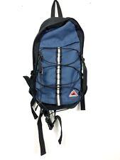 Magnum Hiking Backpack Blue w/ Rain Cover Reflective Stripe