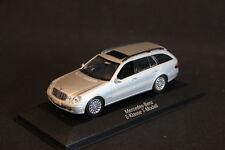 Minichamps (DV) Mercedes-Benz E-Klasse T-Modell 1:43 Brillantsilber (JS)