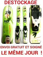 """ski enfant ROSSIGNOL """"KIDI THE COW"""" taille:80 cm+fixations"""