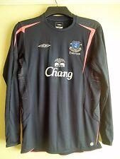 Everton Football Club Manga Larga Camiseta De Entrenamiento 2016 Talla XLB Umbro Chang en muy buena condición