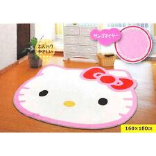 Huge Big Face Hello Kitty Carpet Mat Rug Large Size 180 X 160CM