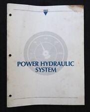 GENUINE 1988 1989 1990 JAGUAR XJS XJ6 MY POWER HYDRAULIC SYSTEM SERVICE MANUAL
