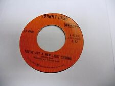 Johnny Cash Singing in Viet Nam/You've Got A New Light 45 RPM VG Columbia