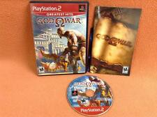 God of War *Greatest Hits* Playstation 2 PS2 Fast FREE SHIPPING Complete!