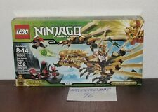 "NEW SEALED LEGO 70503 NINJAGO THE GOLDEN DRAGON CATAPULT LLOYD 13"" LONG 13"" WIDE"
