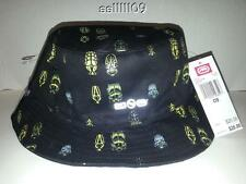 NWT JOEY BADA$$ ECKO UNLIMITED BLACK GREY BEETLE HAT CAP BUCKET REVERSIBLE OSFM