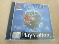 Populous: The Beginning Sony PlayStation 1,ps1 mint collectors pal
