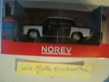 1/54 3-INCHES RENAULT 8 1965 POLICE (POLICÍA) NACIONAL -NOREV RENAULT