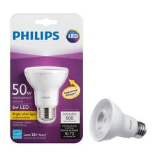 Philips LED PAR20 replace 50w Dimmable 3000K bright white light bulb lamp 6 watt