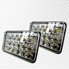 4X6  LED Headlight Light Bulbs Hi/Lo Beam John Deere Gator 4x2 AMT 600 622 626