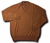 1,200$ Loro Piana Rust Baby Cashmere sweater Size XL, EU 54 Made in Italy