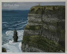 Cliffs of Moher Painting Original Painting Acrylic Landscape Seascape Ocean