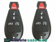 2 New Keyless Entry Remote Car Key Fob Iyz-C01c For 2008-2010 Chrysler 300