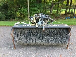 Sweepster Hydraulic Sweeper/Broom Attachment for Utility Tractors