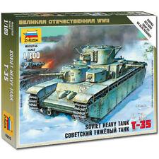 ZVEZDA 6203 Soviet Heavy Tank T-35 1:100 Military Model Kit
