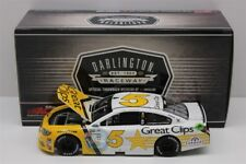 KASEY KAHNE #5 2017 GREAT CLIPS DARLINGTON SPECIAL 1/24 NEW IN STOCK FREE SHIP