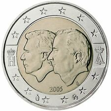 """2 € Belgique 2005 """"union économique"""" STG"""
