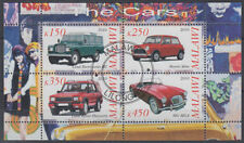 Malawi Cinderellas Phantasiemarken gestempelt Autos Cars [st3320]