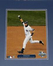 Derek Jeter 2001 World Series Game 4 Home Run 8X10 Matted Photo Steiner Sports