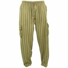 Pantalones de hombre verde chinos 100% algodón