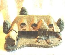 Vintage David Winter Cottages Tythe Barn Great Britain 1985 (1)