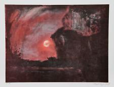 Lloyd Lozes Goff, Tramonto, Litografia, Firmato E Numerato IN Matita