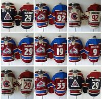 One (1) NHL Colorado Avalanche Hockey Jersey Hoodie You Pick Player All Sizes
