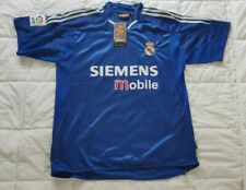 Real Madrid Siemens Mobile 2004-2005 Soccer Football Jersey M BRAND NEW WITH TAG