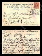 Castelletto Ticino - Caffè della Posta - 10.1.1909