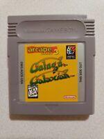 Nintendo Gameboy Galaga Galaxian Video Game Arcade Classic 3 Tested Working