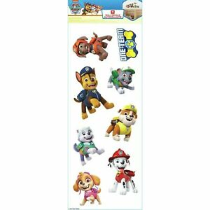 Paw Patrol Kids Room Removable Wall Decals - Set of 8 Decals