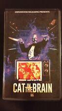 Cat in the Brain Purple Cover #11/25 Lucio Fulci VHS RARE Grindhouse Cult Movie