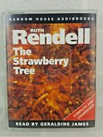 RUTH RENDELL THE STRAWBERRY TREE 2 CASSETTE AUDIO BOOK  UK FREEPOST           10