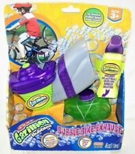 GAZILLION BUBBLES Bubble Bike Exhaust Funrise NEW Very Hard To Find NO SOLUTION