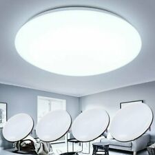 LED Ceiling Light Round Bright Down Panel Wall Kitchen Bathroom Lamp Fixture