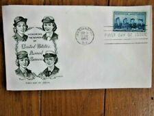 WOMEN IN THE ARMED SERVICES WACS WAVES ARMY NAVY MARINES 1952 ARTMAST CACHET FDC