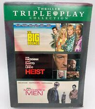 Triple Play: Thriller Dvd 2008 3 Disc Set The Big Bounce, Heist, Matchstick Men