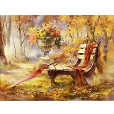 Full Drill Autumn 5D Diamond DIY Embroidery Painting Cross Stitch Kit Decoration