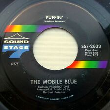 the MOBILE BLUE soul funk 45 on mint minus SOUND STAGE 7 Puffin b/w Snips JF106