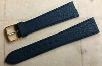 Speidel Genuine Leather Calf Watch Band MADE IN GERMANY 20mm Dark Blue #874