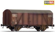 BRAWA 48809 gedeckter Güterwagen Gms54 der DB patiniert