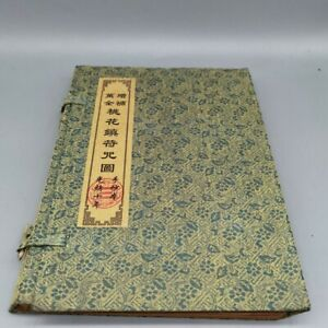 """Old antique Chinese book """"Taohua Town Spell Figure"""" Four books a set"""