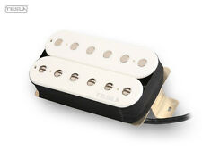 TESLA HUMBUCKER PLASMA-7, WHITE BRIDGE