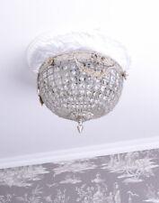 Deckenlüster Rokoko Lampe Hängelampe Kristalle Deckenleuchte antik