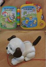 Fisher Price Puppys Animal Friends Electronic Book and Pull Along Puppy